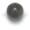 Semi-Precious 6mm Round Gray Onyx
